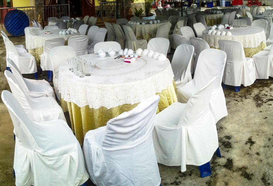ออกงานโต๊ะจีน โต๊ะจีนภานุพงศ์โภชนา