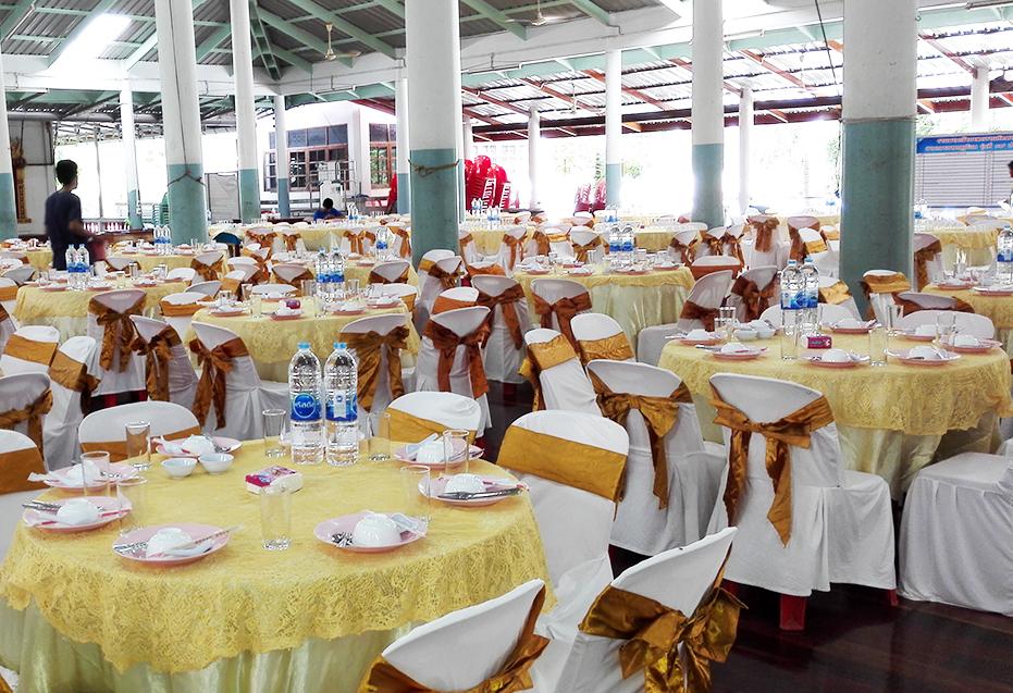 จัดสรรความอร่อย โต๊ะจีนภานุพงศ์โภชนา นครปฐม