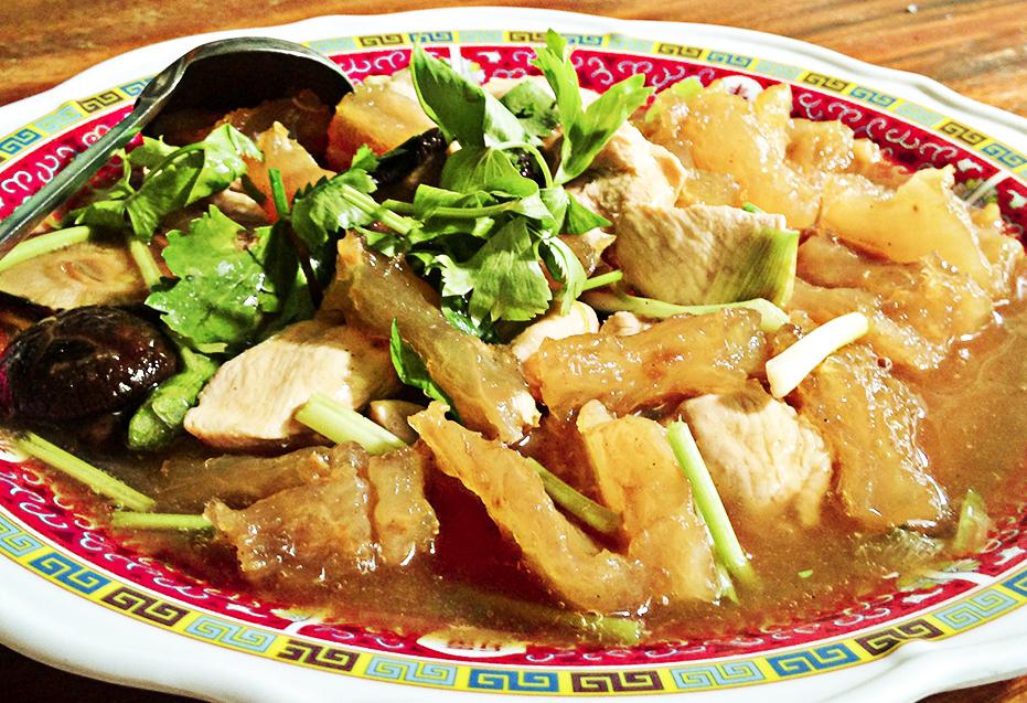 รายการอาหารโต๊ะจีน ชุด 7 โต๊ะจีนภานุพงศ์โภชนา