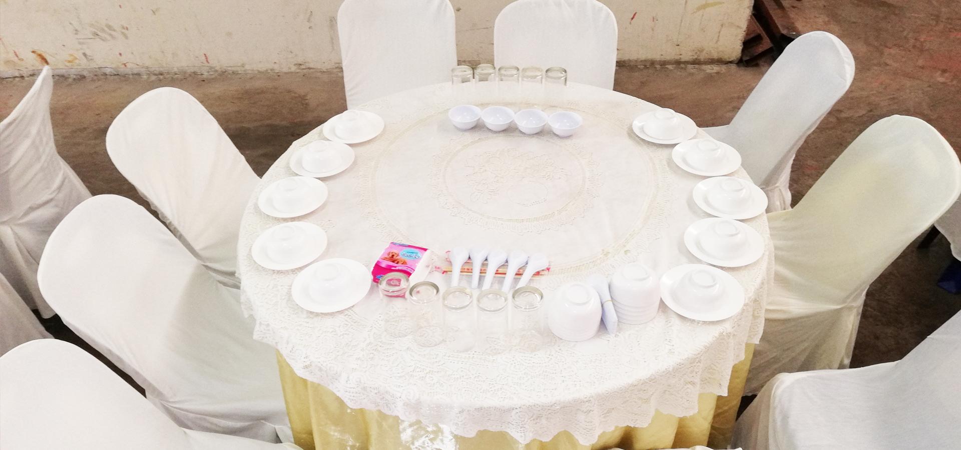 ภานุพงศ์โภชนารับจัดโต๊ะจีน โต๊ะจีนนครปฐ